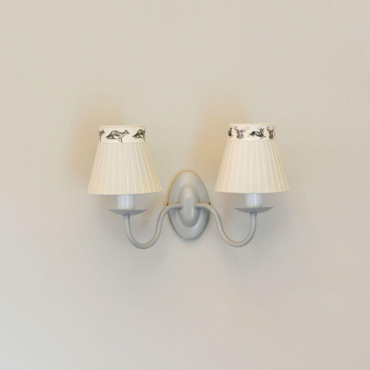 Kingston wall light double