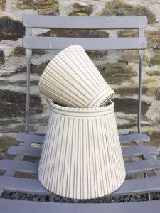 Hampton Striped cotton lampshade. www.bay-design.co.uk