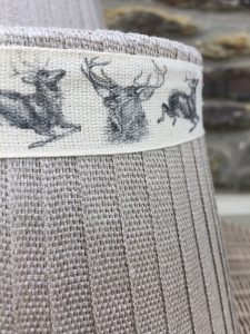 Mansfield Lampshade Linen Stag. Mansfield Lampshade Collection. www.bay-design.co.uk