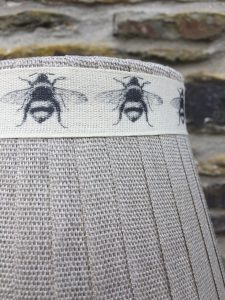 Mansfield Lampshade Linen Bee Mansfield Lampshade Collection. www.bay-design.co.uk