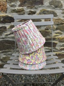 Amelia large Paisley Lampshade. www.bay-design.co.uk