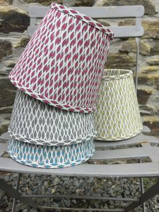 Giselle Ikat Design Lampshade. www.bay-Design.co.uk