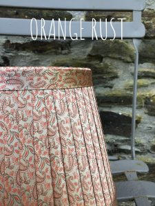 Paisley satin in orange rust www.bay-Design.co.uk