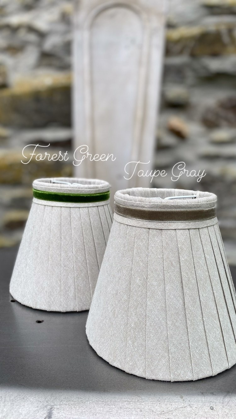 Forest green and taupe Gray